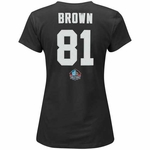 Raiders Majestic Womens Tim Brown Winning Sport Tee