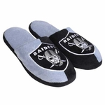 Raiders Mens Split Color Slippers