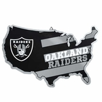 Raiders Metal Raider Nation Sign