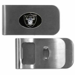 Raiders Money Clip Bottle Opener