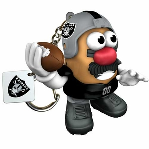 Raiders Mr. Potato Head Keychain - Click to enlarge