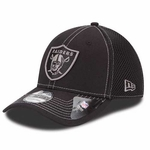 Raiders New Era 39Thirty Black Neo Cap