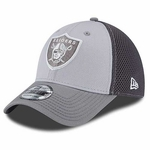 Raiders New Era 39Thirty Greyed Out Neo Cap