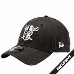 Raiders New Era 39Thirty Pirate Logo Cap