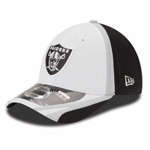 Raiders New Era 39Thirty Training Camp Cap - Click to enlarge