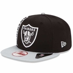 Raiders New Era 9Fifty Rally Mark Cap
