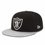 Raiders New Era 9Fifty Snap Foiler Cap