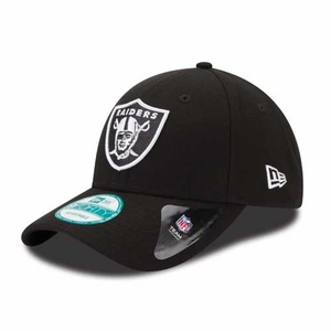 Raiders New Era 9Forty League Black Cap - Click to enlarge