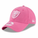 Raiders New Era 9Twenty Pink Preferred Pick