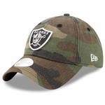 Raiders New Era 9Twenty Preferred Pick Camo Cap