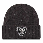 Raiders New Era Cable Frosted Knit