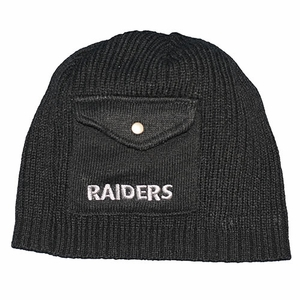 Raiders New Era Pocket Beanie - Click to enlarge