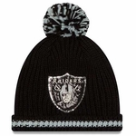 Raiders New Era Sequin Frost Knit