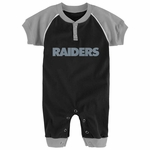 Raiders Newborn Time Coverall
