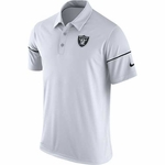 Raiders Nike 2016 Team Issue White Polo