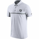 Raiders Nike 2016 White Elite Polo