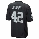 Raiders Nike Karl Joseph Black Game Jersey