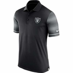 Raiders Nike Early Season Black Polo