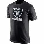 Raiders Nike Facility Black Tee