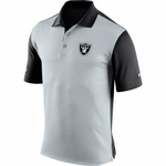 Raiders Nike Preseason Polo Black