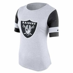 Raiders Nike Stadium Fan Top White