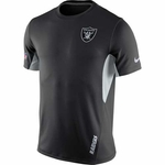 Raiders Nike Vapor Short Sleeve Top