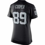 Raiders Nike Women's Amari Cooper Black Limited Jersey