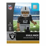 Raiders Oyo Khalil Mack Home Jersey Figure