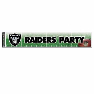 Raiders Party Banner - Click to enlarge