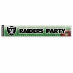 Raiders Party Banner