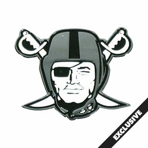 Raiders Pirate Logo Lapel Pin - Click to enlarge