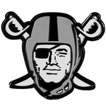 Raiders Pirate Logo Lapel Pin