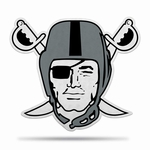 Raiders Pirate Logo Pennant