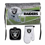 Raiders Premium BBQ Tailgate Set