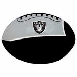 Raiders Quick Toss 4 Inch Softee Football