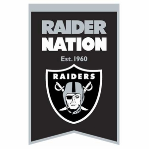 Raiders Raider Nation Banner - Click to enlarge