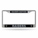 Raiders Raider Nation License Plate Frame