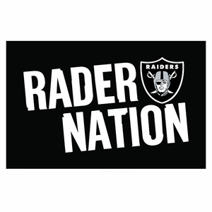 Raiders Raider Nation Rally Towel - Click to enlarge