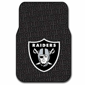 Raiders Rubber Floor Mats - Click to enlarge