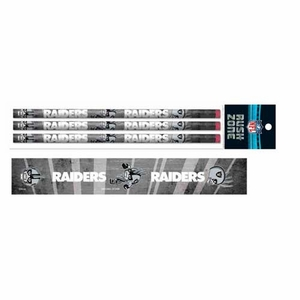 Raiders Rusher Three Pack Pencil Set - Click to enlarge