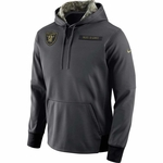 Raiders Salute To Service Youth Fleece Pullover