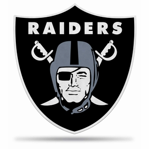 Raiders Shield Shaped Pennant - Click to enlarge