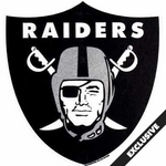 Raiders Shield Shaped Pennant