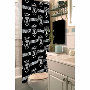 Raiders Shower Curtain - Click to enlarge
