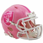 Raiders Speed Mini Pink Helmet
