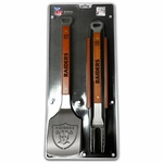 Raiders Sportula 3pc BBQ Set