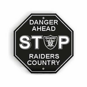 Raiders Stop Sign - Click to enlarge