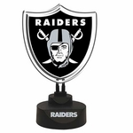 Raiders Team Logo Neon
