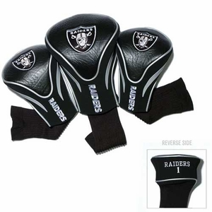 Raiders Three Pack Contour Headcovers - Click to enlarge