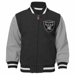 Raiders Toddler Varsity Jacket